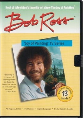 Winter Sun - Bob Ross Painting from Joy of Painting PBS TV Series 2 DVD