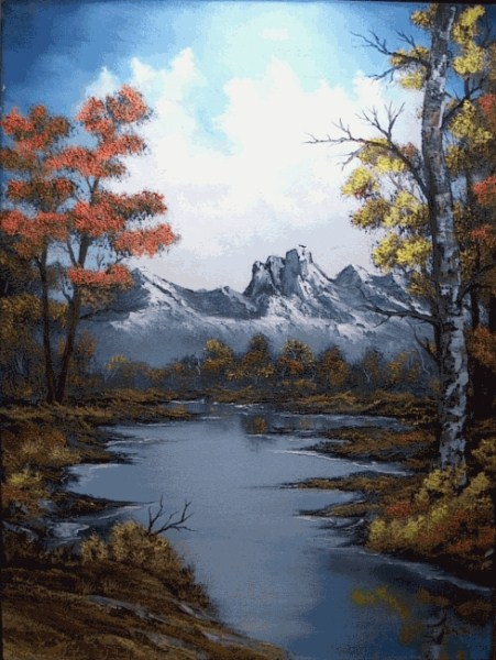 Autumn Images Oil Painting
