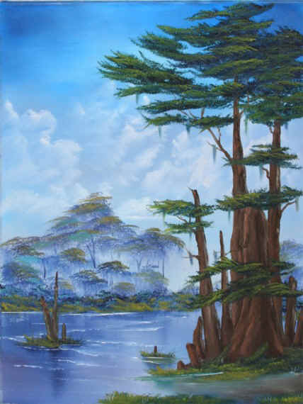 Bob Ross® Cypress Swamp
