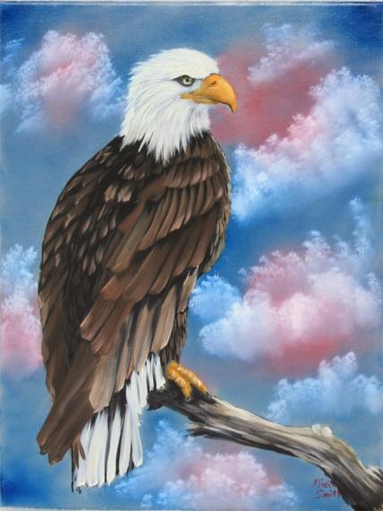 Oil Paintings Of Birds Of Prey