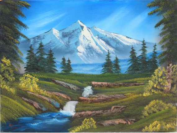Bob Ross® Mountain Hide-Away
