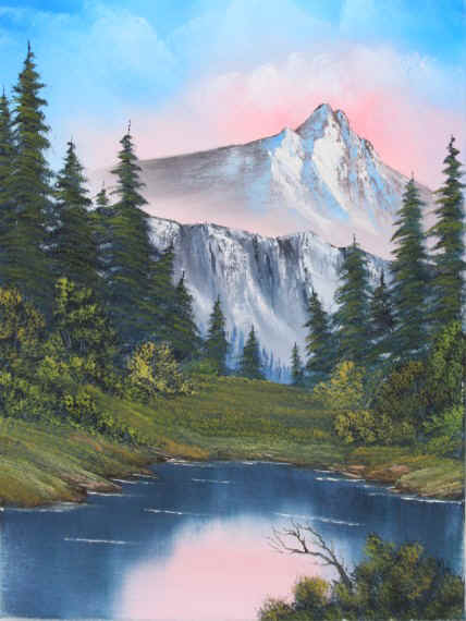 Bob Ross® Mountain Serenity