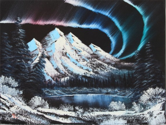 Bob Ross® Northern Lights