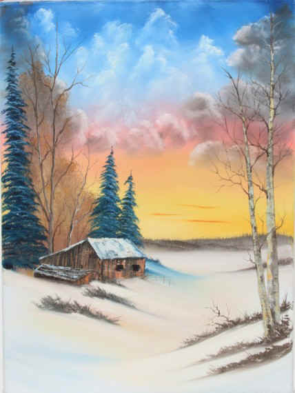 Bob Ross® Wintertime Discovery